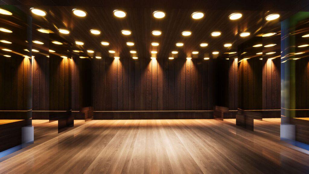 Dance Studio Garden Room Idea
