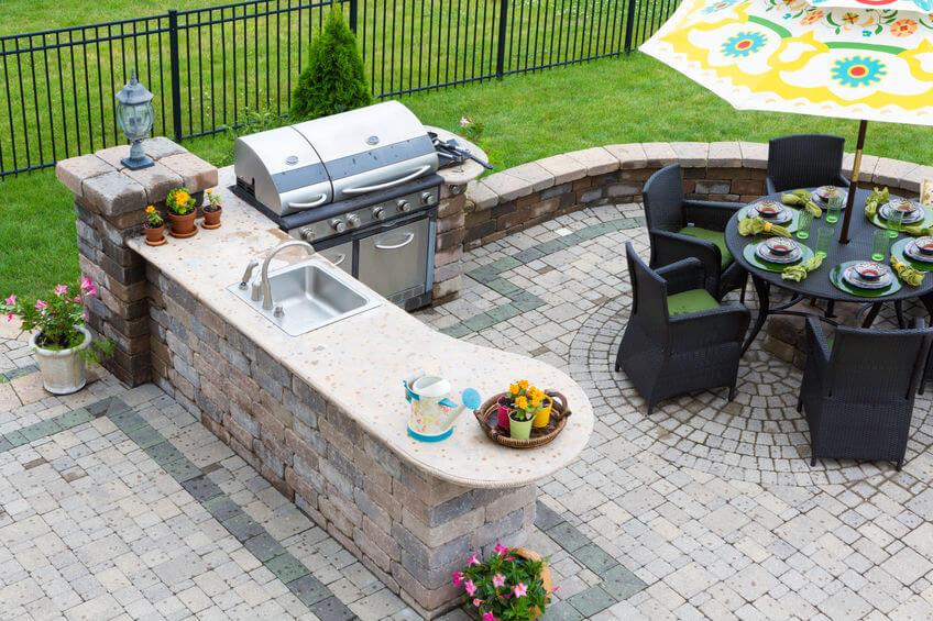 garden kitchen room idea