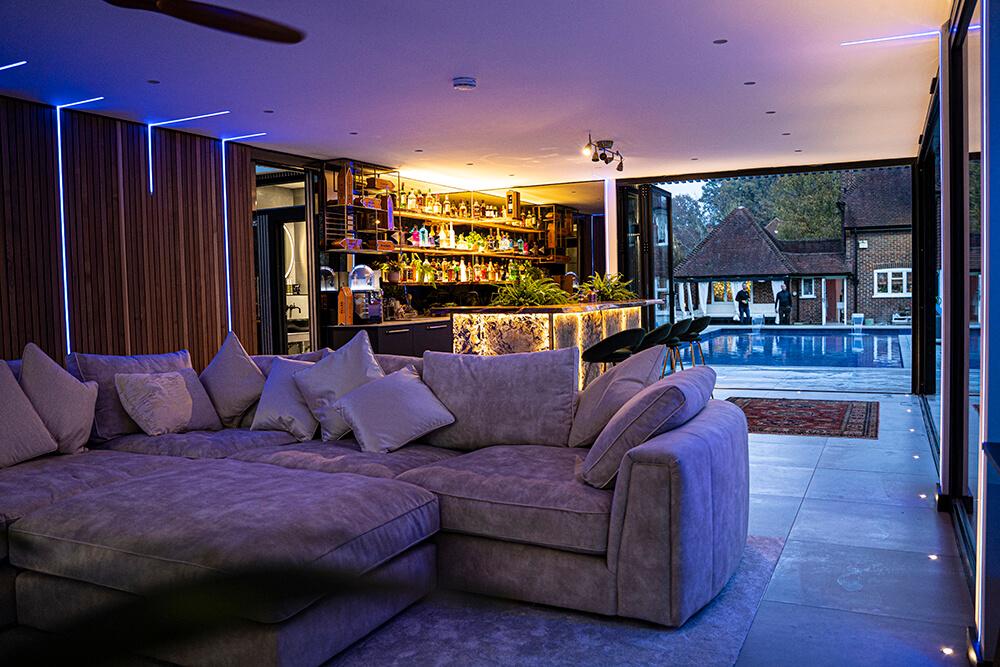 Garden Living Room Idea