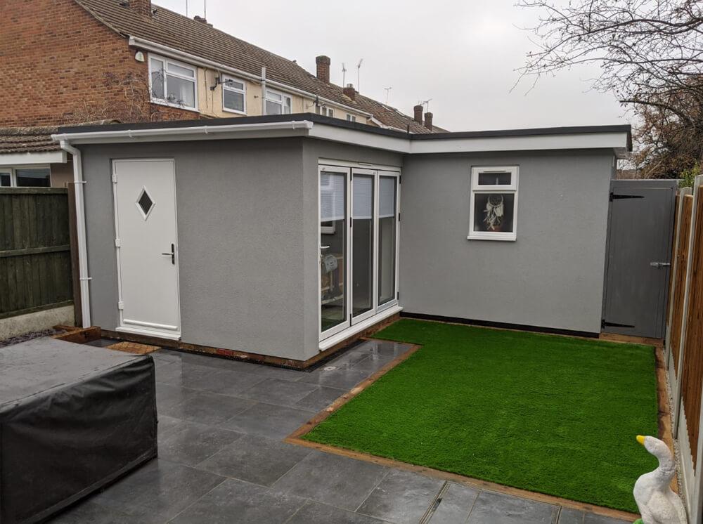 office garden room idea