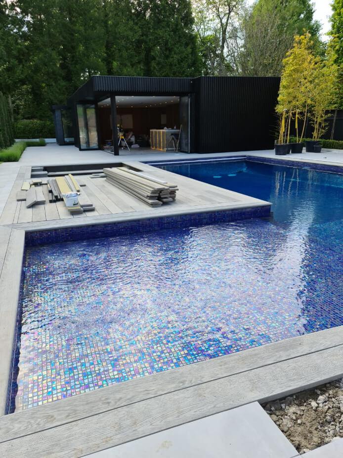 pool house garden room option
