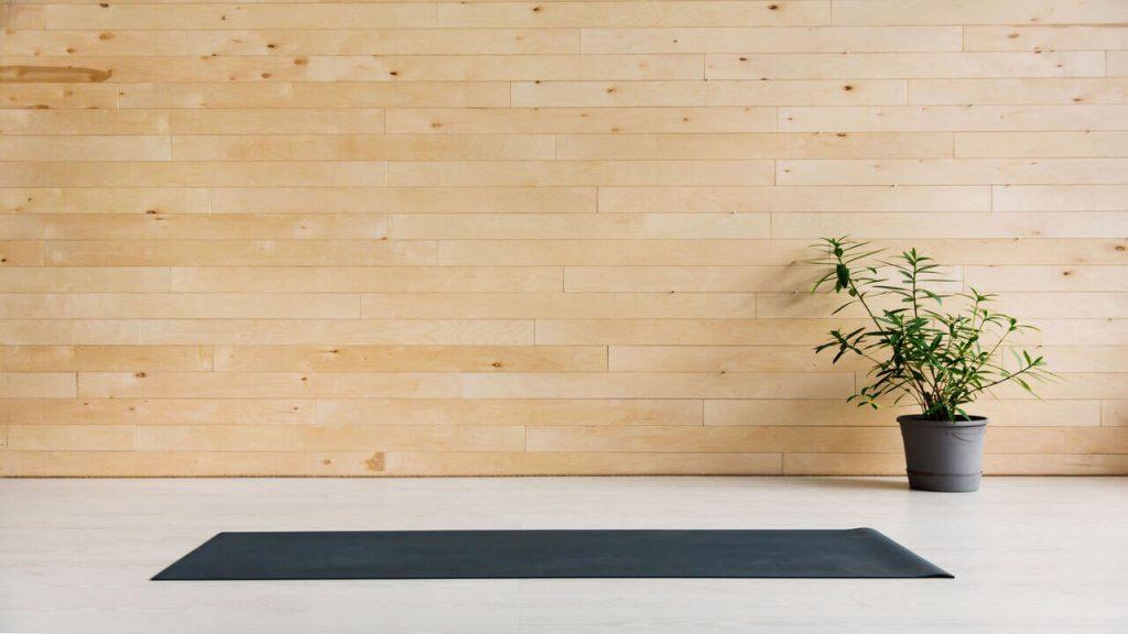 Yoga Garden Room Idea