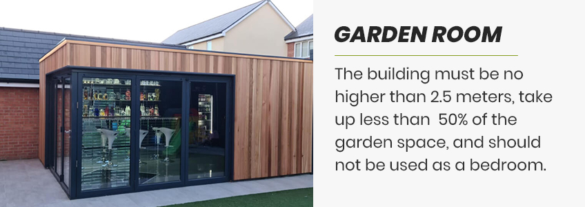 garden room roof design