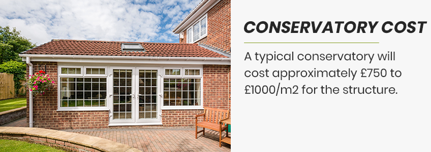 cost of your conservatory