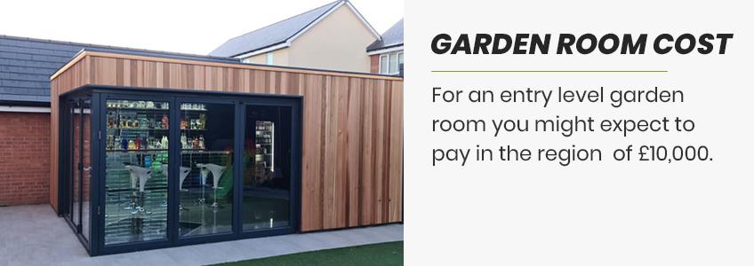 price of your garden room